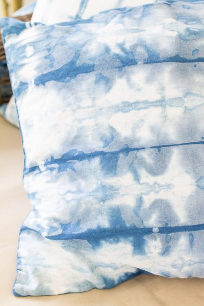 Blue and white - watery hues of shibori