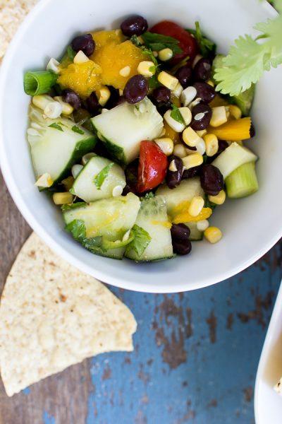 Corn Summer Salad I Finding Silver Pennies