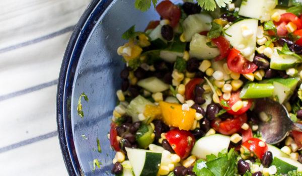 Healthy Corn Summer Salad