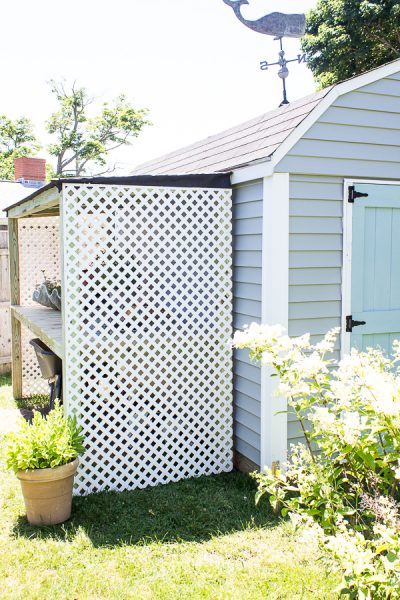 Easy to Build Lean-to Potting Shed