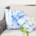 DIY Shibori Pillows