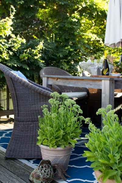 Fantastic all weather woven seating
