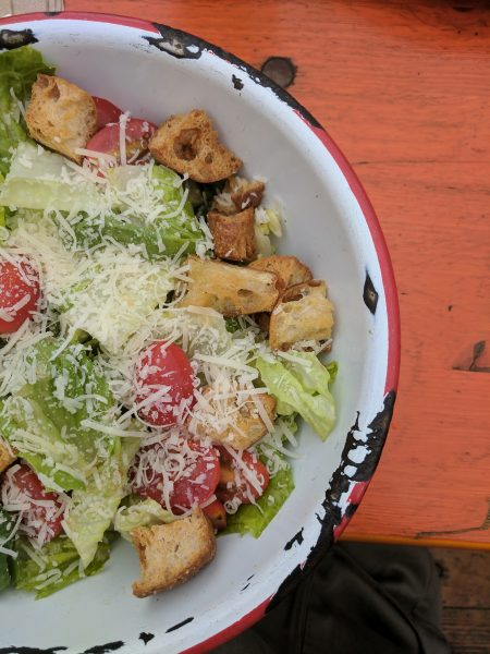 Miso Caesar Salad, The Canteen