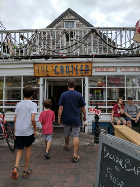 Delicious spot to eat in Provincetown, The Canteen