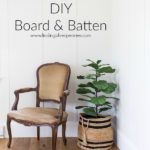 DIY Board and Batten (Bedroom Makeover)