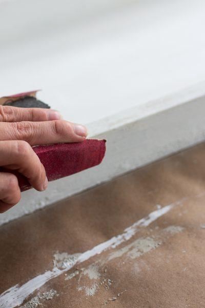 How to Distress Saltwash Texture