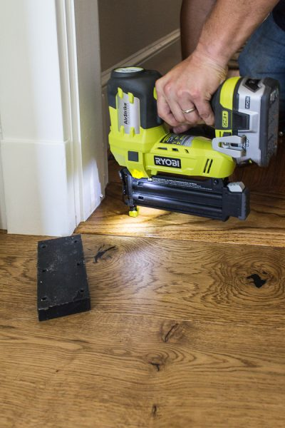 Securing the new threshold with the RYOBI Airstrike