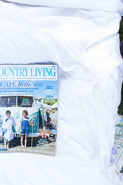 Country Living Magazine UK edition - how pretty is this cover?