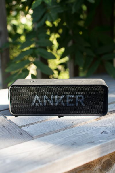 This speaker lets you bring the music to your outdoor party