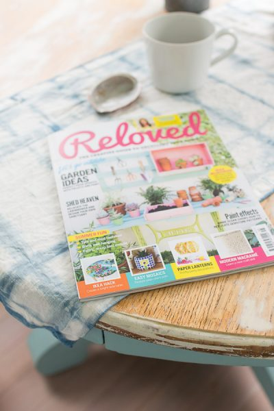We're featured in Reloved magazine