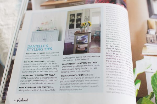 My styling tips in Reloved Magazine