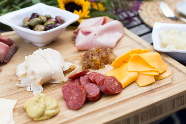 Cold meats and cheeses make an easy dinner