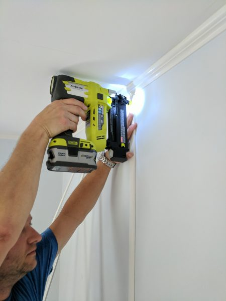 The RYOBI Airstrike makes DIY easier