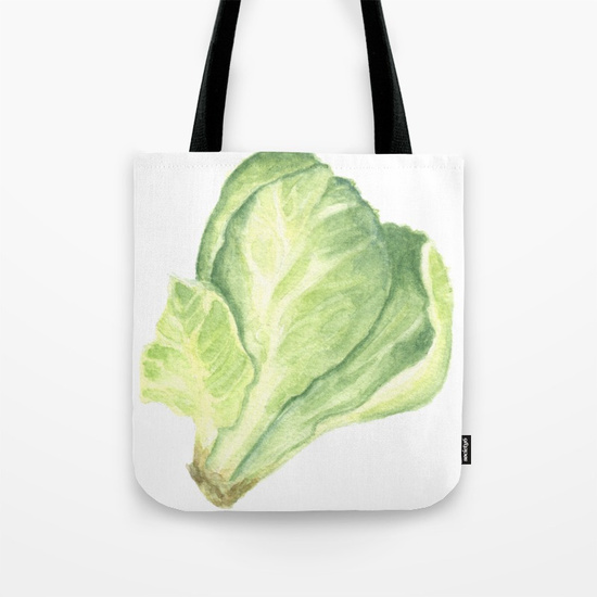 Sprout Tote by Finding Silver Pennies, available in Society6