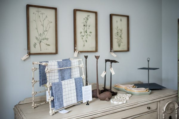 Beautiful whales, linens and still lifes at Laurel Grove