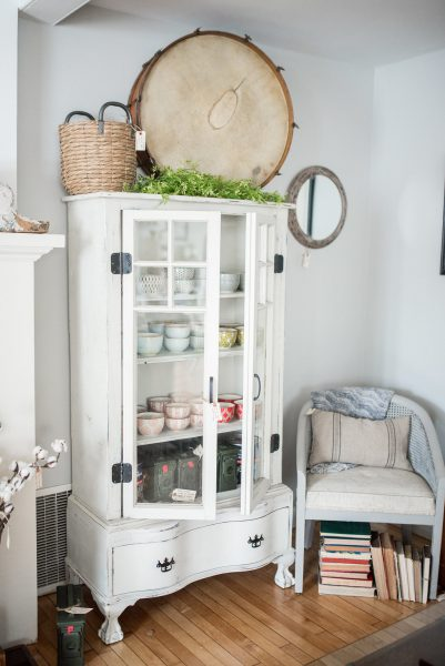 Delicious neutrals and painted furniture at Laurel Grove
