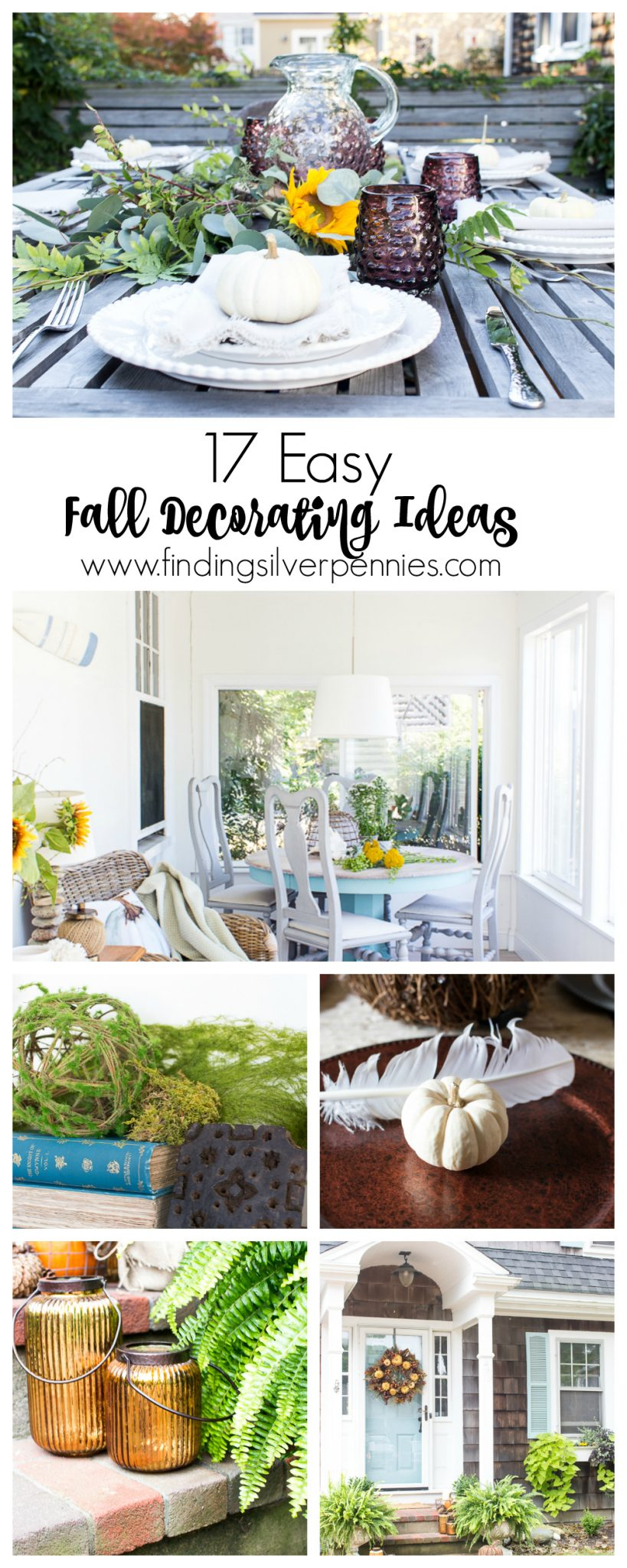 17 Easy Fall Decorating Ideas - Finding Silver Pennies
