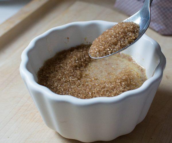 Adding Sugar to Crème Brûlée