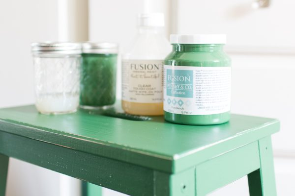 Fusion Mineral Paint Materials for Updating a Step Stool