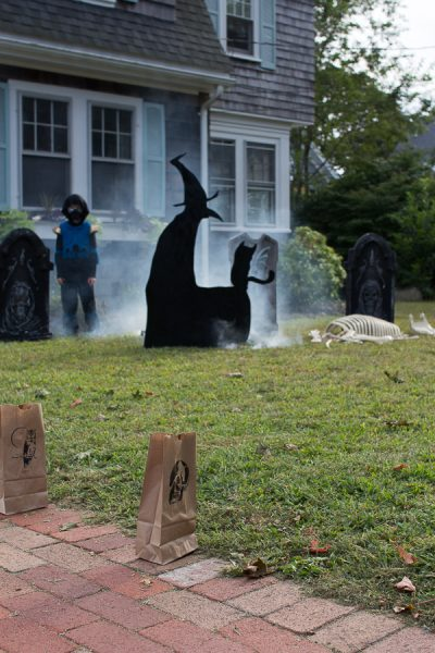 enjoyable home depot garden statues. Ideas for a family friendly halloween Family Friendly Halloween  Home Depot Style Challenge Finding