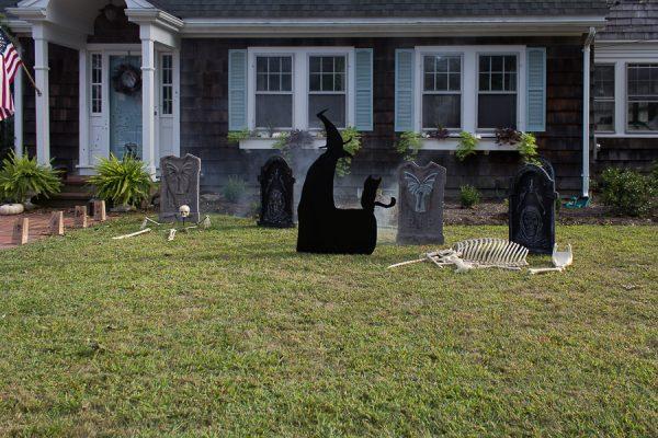 Haunted front yard