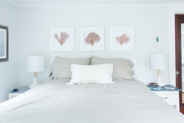Refreshing Coastal Bedroom Makeover
