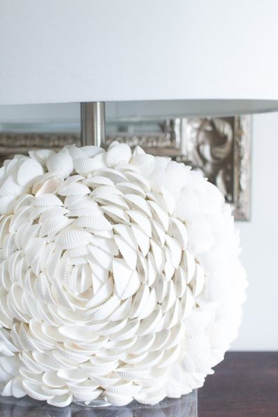 Gorgeous Shell Lamps