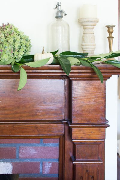 Simple and Elegant Mantel