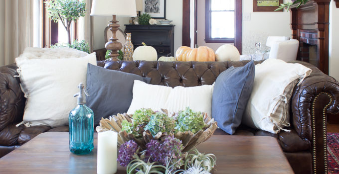 Nature Inspired Fall Decor (Fall Into Home Tour)