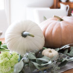 Pretty Pumpkin Fall Tablescape