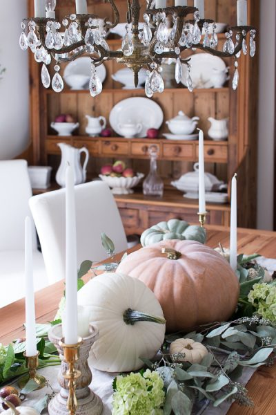 Pretty Pumpkin Tablescape