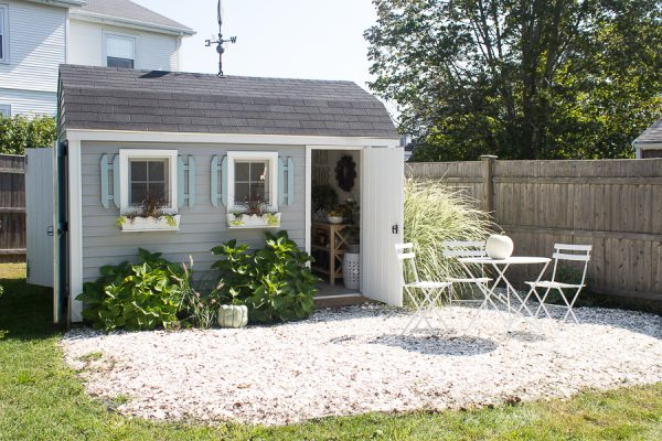My She Shed - a creative spot inside and out