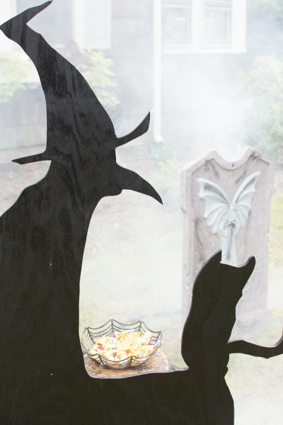 DIY Witch Silhouette I Finding Silver Pennies