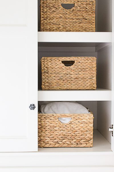 Pretty Woven Baskets make storage a snap I Finding Silver Pennies