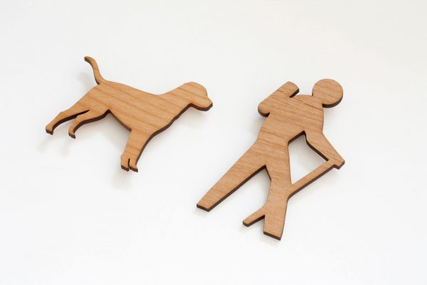 Wooden Magents by 163 Design Company