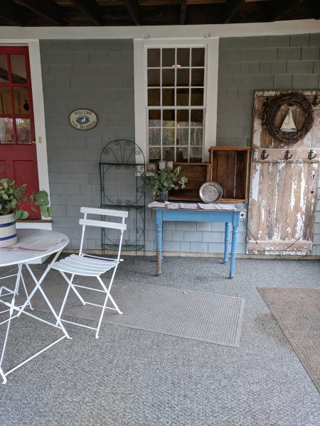 Back Porch for the Seaside Kitchens Tour I Finding Silver Pennies