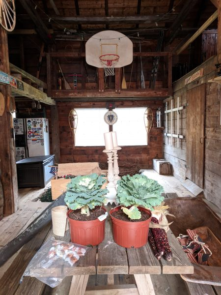 The Barn Before I Finding Silver Pennies