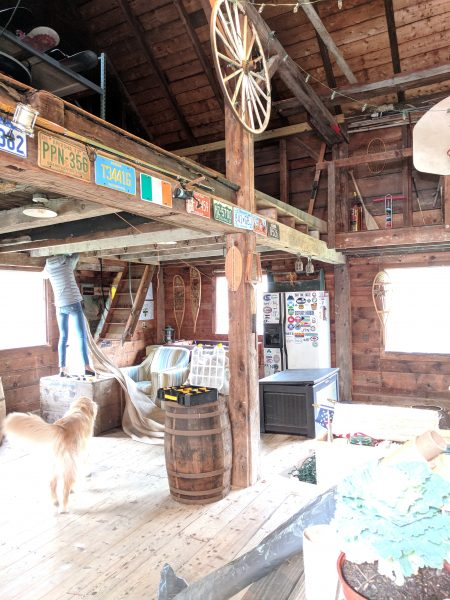 Getting the Barn Ready for the Seaside Kitchens Tour in Scituate I Finding Silver Pennies
