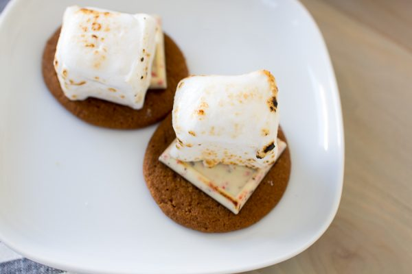 Toasted Homemade Marshmallows and lovely Christmas S'mores I Finding Silver Pennies