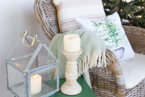 Cozy Christmas Porch I Finding Silver Pennies