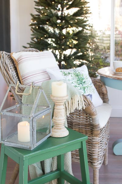 A coastal Christmas on our back porch I Finding Silver Pennies