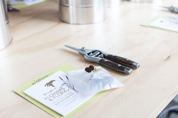 Foxglove Market Flower Workshop I Finding Silver Pennies