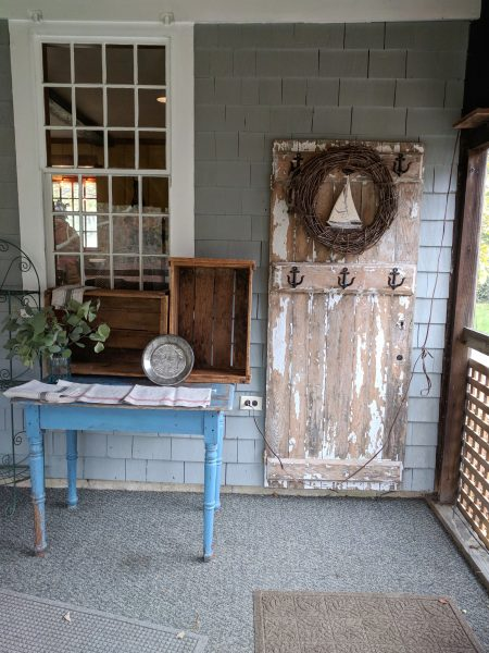 Front Porch Pies and Chippy Decor I Finding Silver Pennies