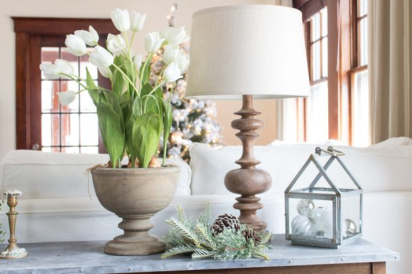 Simple winter decorating I Finding Silver Pennies