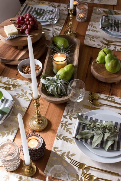 Mix and Match for a Natural and Comfortable Tablescape - Finding Silver Pennies