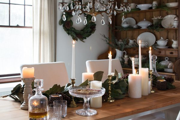 How to set an lovely table for Christmas I Finding Silver Pennies