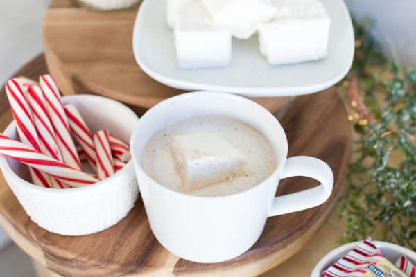 Homemade Marshmallows and a Hot Chocolate Bar