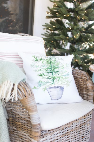 Pretty Pillows and a Coastal Christmas I Finding Silver Pennies