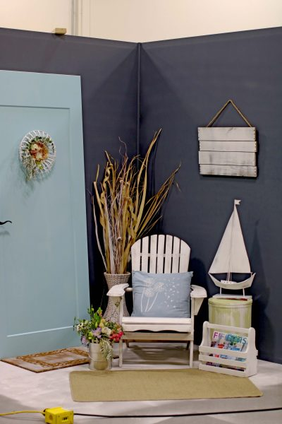Dramatic Seaside Room Makeover I Finding Silver Pennies