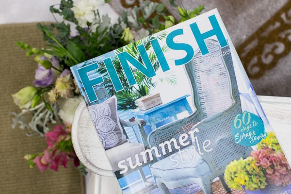 Finish Magazine by Matthew Mead for Wagner Spraytech I Finding Silver Pennies
